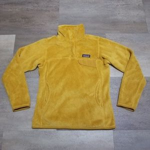 Patagonia Retool Snap T Gold Womens Size XS